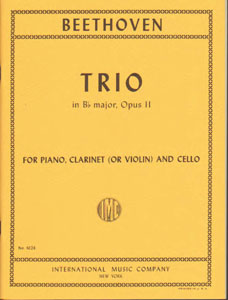 Beethoven: Trio in B flat M