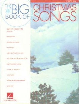 The Big Book of Christmas Songs, violin