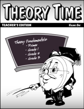 Theory Time Teacher's Edition Volume 1, Primer - 3