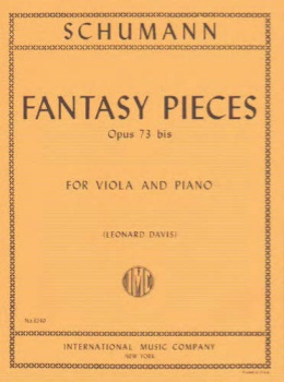 Schumann - Fantasy Pieces Op 73 bis for Viola and Piano