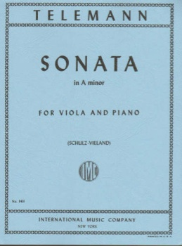 Telemann - Sonata In A minor for Viola and Piano