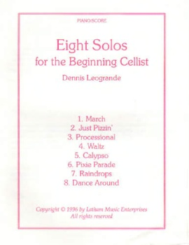 Eight Solos for the Beginning Cellist