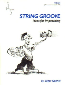 String Groove, Ideas for Improvising, Book and CD - Violin