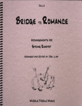 Bridge to Romance, Arrangements for String Quartet