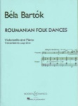 Bartok - Roumanian Folk Dances for Violoncello and Piano