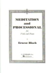 Meditation And Procession for Viola and Piano