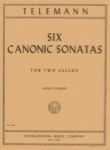 Telemann -Six Canonic Sonatas for Two Cellos