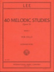 Lee - 40 Melodic Studies, Op 31 for Cello - Book 1