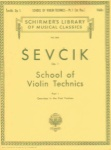 Sevcik - School of Violin Technics, Op 1, Part 1 Exersices in the First Position
