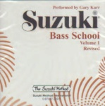 Suzuki Bass School CD, Volume 1 [String Bass]