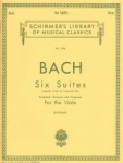 Bach Suites for the Viola