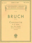 Bruch - Concerto in G minor Op 26 for the Violin