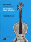 Contemporary Violin Technique Volume 2