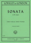 Loeillet - Sonata In B Flat major for Viola and Piano