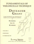 Fundamentals Of Violincello Technique - Volume 2