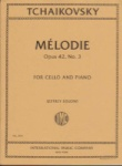Melodie, Op 42, No 3, for Cello and Piano