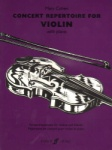 Concert Repertoire for Violin with Piano