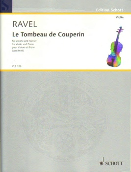Le Tombeau De Couperin For Violin And Piano