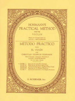 Hohmann - Practical Method for the Violin - Book 1