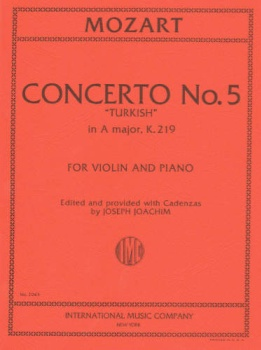 Mozart - Concerto No. 5 in A Major, K.219