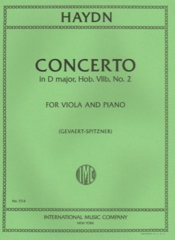 Haydn - Cello Concerto In D major, Hob. VIIb, No. 2, for Viola and Piano
