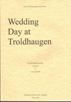 Wedding Day at Troldhaugen, score