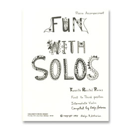 Fun With Solos, Piano Accompaniment